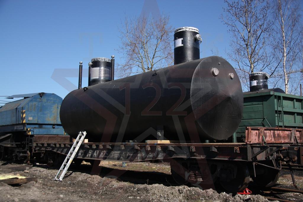 резервуар подземный стальной