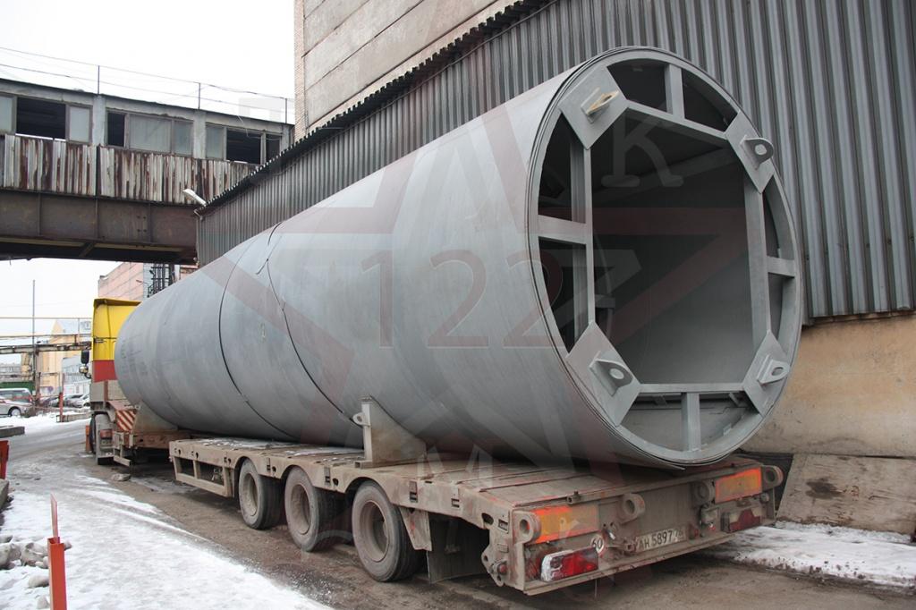 стальной цилиндрический вертикальный резервуар